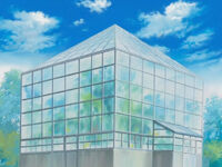 Kouryu high school greenhouse