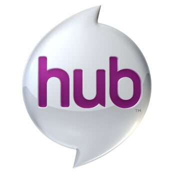 HUB Logo 3D 1