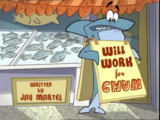 Will Work for Chum