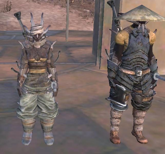 Kenshi Samurai Boots Blueprint