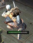 Lockpicking chance
