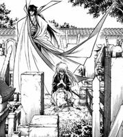MangaKenshinVisitsTomoesGrave2