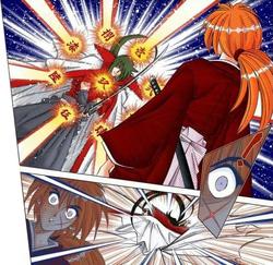 Hiko uses kuzu ryu sen
