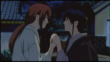 Kaoru asks Kenshin to marry her.