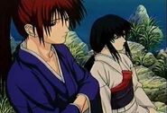 Kenshin and Tomoe at Lake Biwa