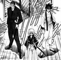 MangaKenshinSaitoAndSano