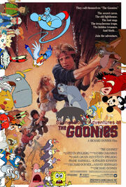 SpongeBob's Adventures of The Goonies Poster