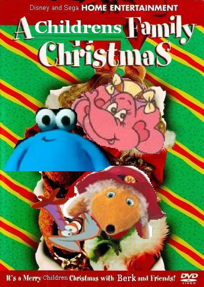 a children family christmas dvd posterjpg