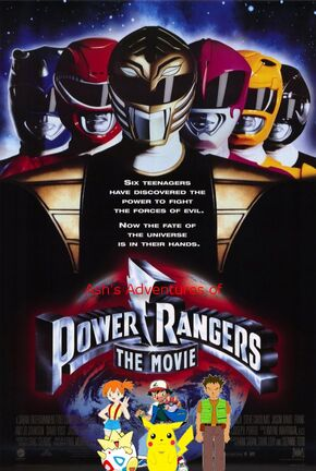 Ash's Adventures of Mighty Morphin Power Rangers The Movie