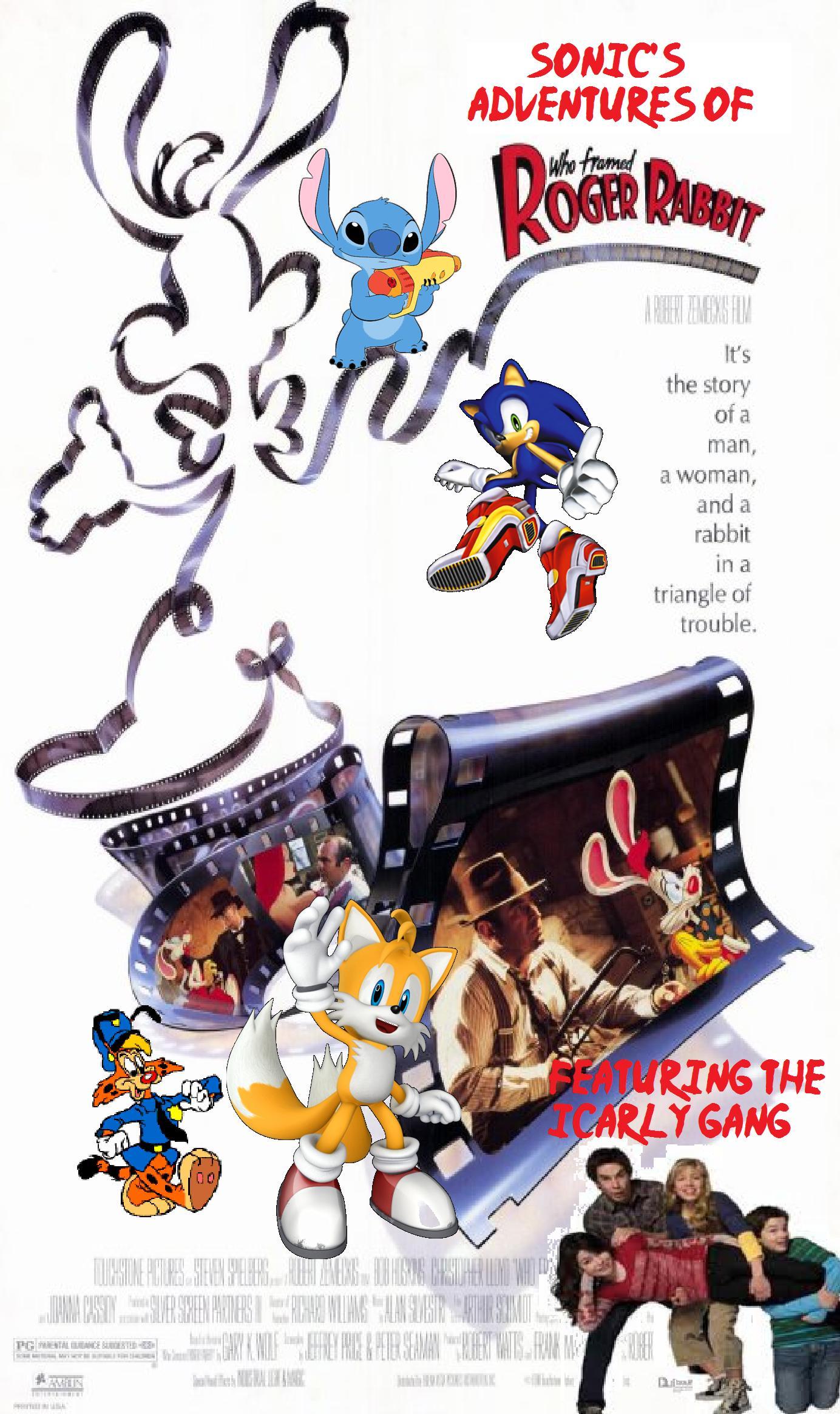Image - Sonic\'s Adventures of Who Framed Roger Rabbit Poster.jpg ...
