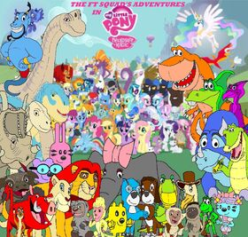 The FT Squad's Adventures in My Little Pony Friendship is Magic