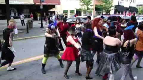 Rocky Horror Show - Time Warp - Flash Mob