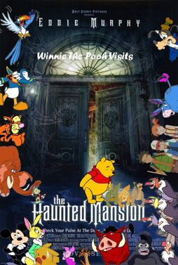 Winnie the Pooh Visits The Haunted Mansion