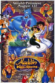 Simba, Timon, and Pumbaa's Adventures of Aladdin and the King of Thieves poster
