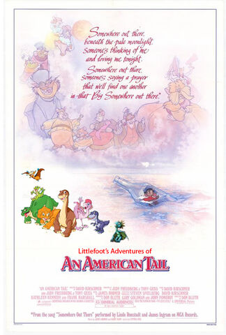 File:Littlefoot's Adventures of An American Tail Poster.jpg