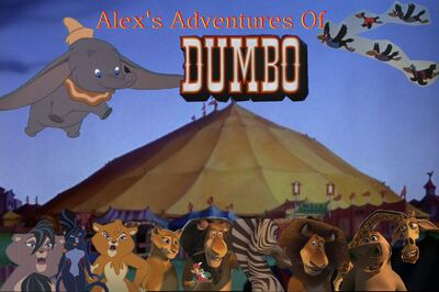 Alex s adventures of Dumbo by Captainleo