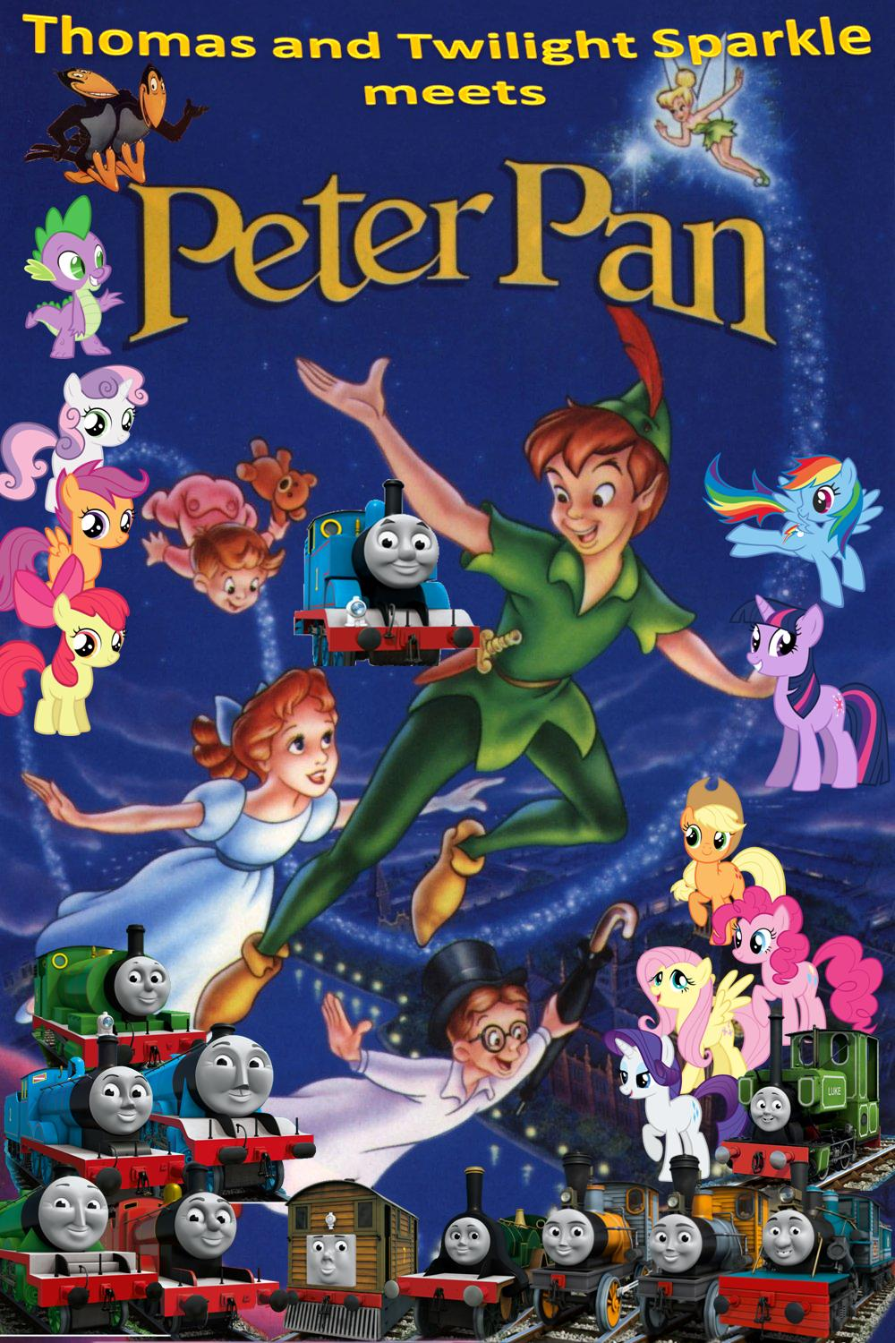 Thomas And Twilight Sparkle Meets Peter Pan Kerasotes Wiki