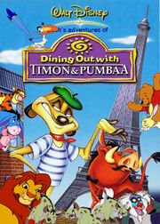 Pooh's adventures of Dining out with Timon and Pumbaa