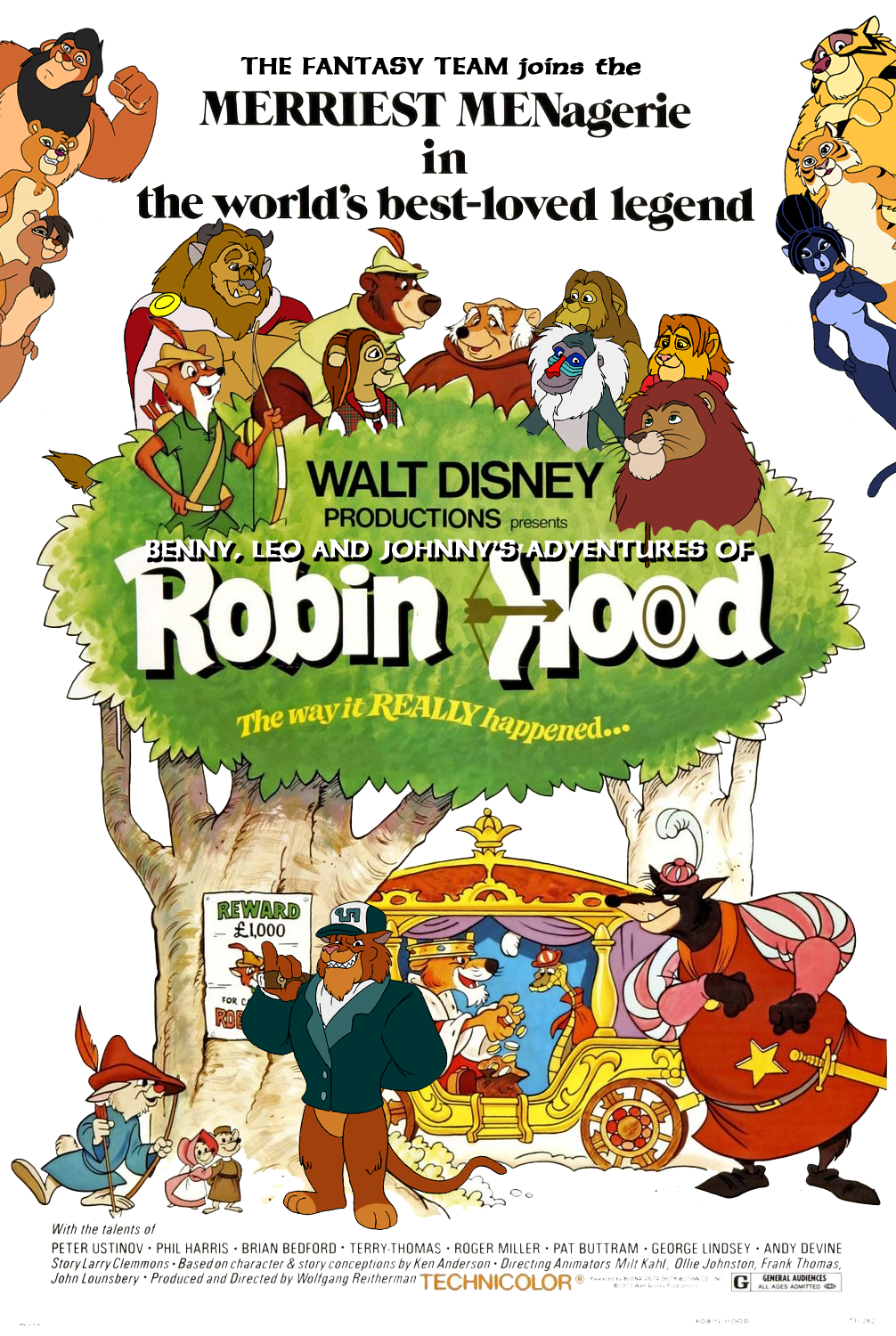 Benny Leo And Johnny S Adventures Of Robin Hood Kerasotes Wiki