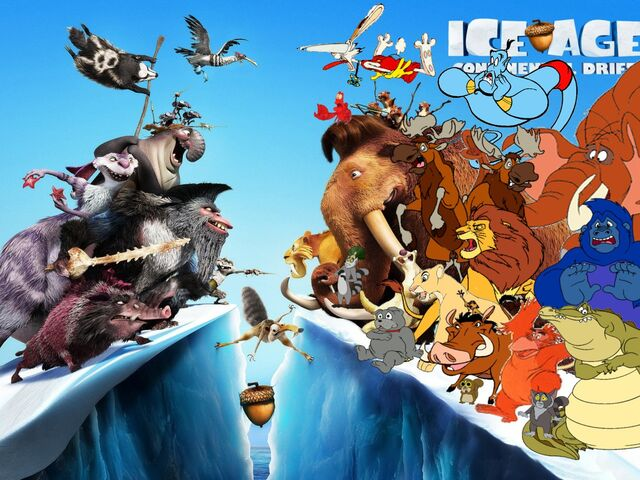 File:Simba, Timon, and Pumbaa's Adventures of Ice Age Continenal Drifit.jpg