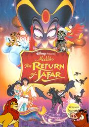 Aladdin and the return ofjafar poster