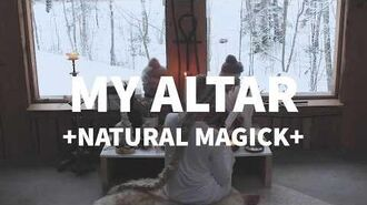 What's on my altar. Pt. 2 - Natural Magick