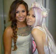 Demo Lovato and Kerli