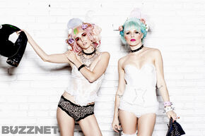 Kerli and Audrey Kitching 3