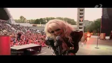 Kerli - I Want Nothing (Live at Õllesummer)