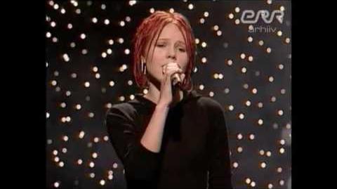 Kerli - Neil päevil polnud algust (Live at Laulukarussell 2002)