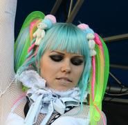 Kerli blue hair