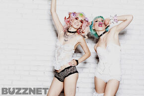 Kerli and Audrey Kitching 8