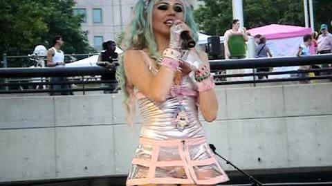 Kerli - Walking on Air (Live at Motor City Pride)
