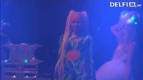Kerli - The Lucky Ones (Syn Cole vs. Kerli Club) (Live at Monster Music Festival 2013)