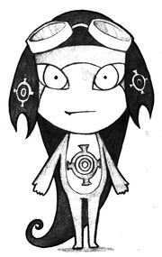 Character design kumomo by anamaris-d35yz4l