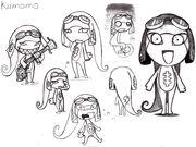 Old kumomo character design by anamaris-d35yyn9