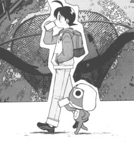 Fuyuki and Keroro