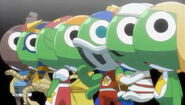 7 World of Keroro Gunso(1 orginal and 6 clone)