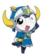 Keroro rpg the knight warrior and legendary pirat art 26