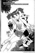 Natsumi and cat Keroros