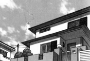 Hinata's house in the manga
