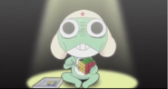 Rubik Cube makes Keroro went crazy