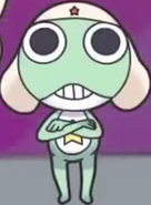 Keroro is up to no good