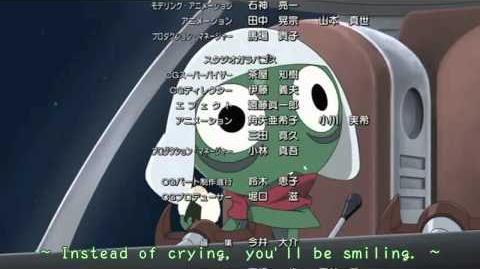Keroro Gunsou Movie 3 Subbed Ending Theme