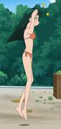 Poyon in bikini
