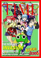 Keroro exclusive TIME cover by fadzreeq