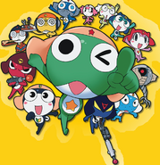 Keroro and bros