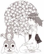 Natsumi and Keroro Flower Pot