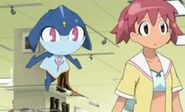 Maru and Natsumi worried about Meru