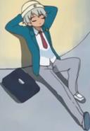 Saburo chilling